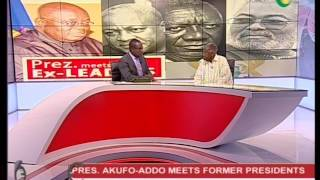 Analysing the president call for the 3 former presidents - 18/4/2017
