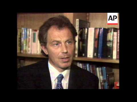 FRANCE: TONY BLAIR'S REACTION TO BOMB ATTACK IN OMAGH N. IRELAND