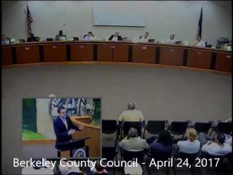 Berkeley County Council Meeting - 4-24-2017
