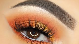 QUICK 3 Min Sunset Eye Makeup Tutorial