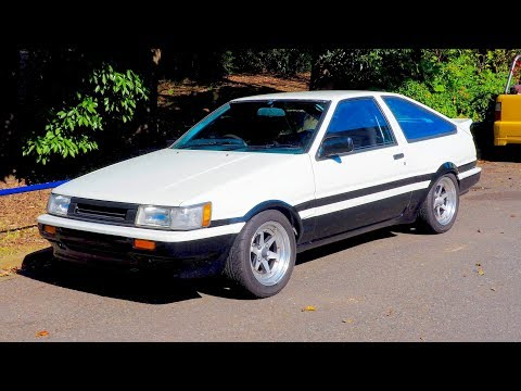 1983 Toyota Corolla Levin GT-APEX AE86 Widebody - Japan Auction Purchase Review