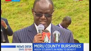 Meru Governor Kiraitu Murungi to issue bursaries to needy students