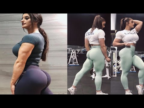 FEMALES BODYBUILDING, KIKI VHYCE, WORKOUT, IFBB MUSCLE,