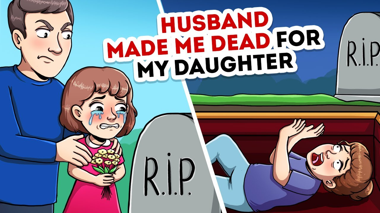 My husband told our daughter that I'm no longer alive | Animated shorts