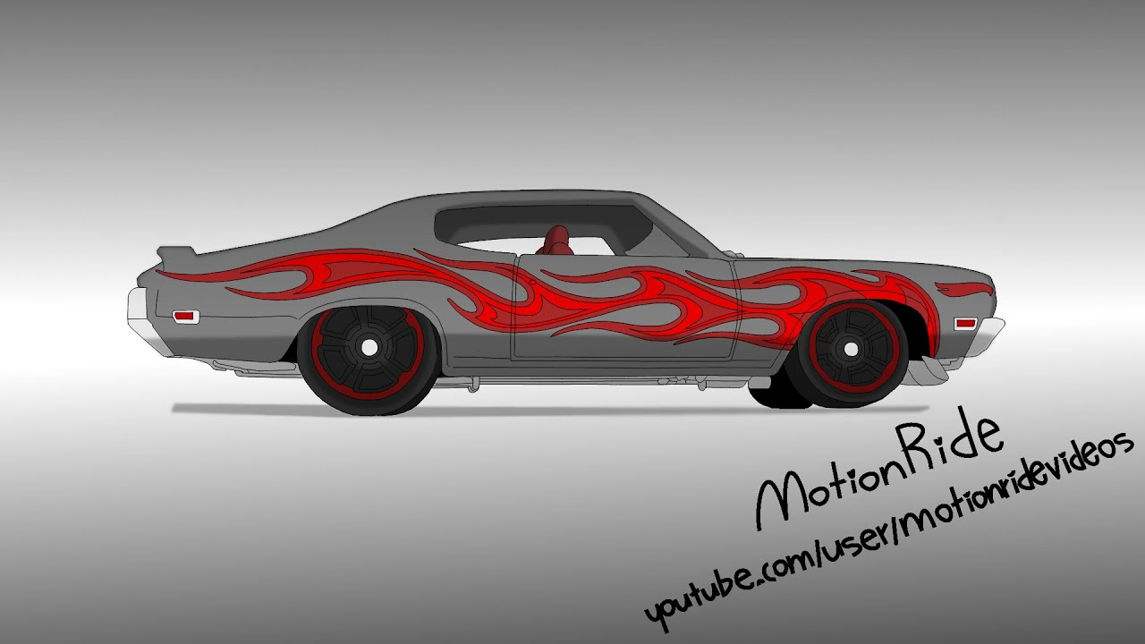 Hot Wheels 70 Buick Gsx Speed Drawing Youtube