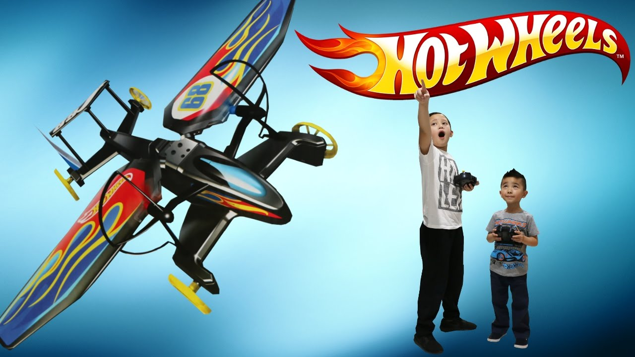 Hot Wheels RC Sky Shock Transforming Remote Control Flying