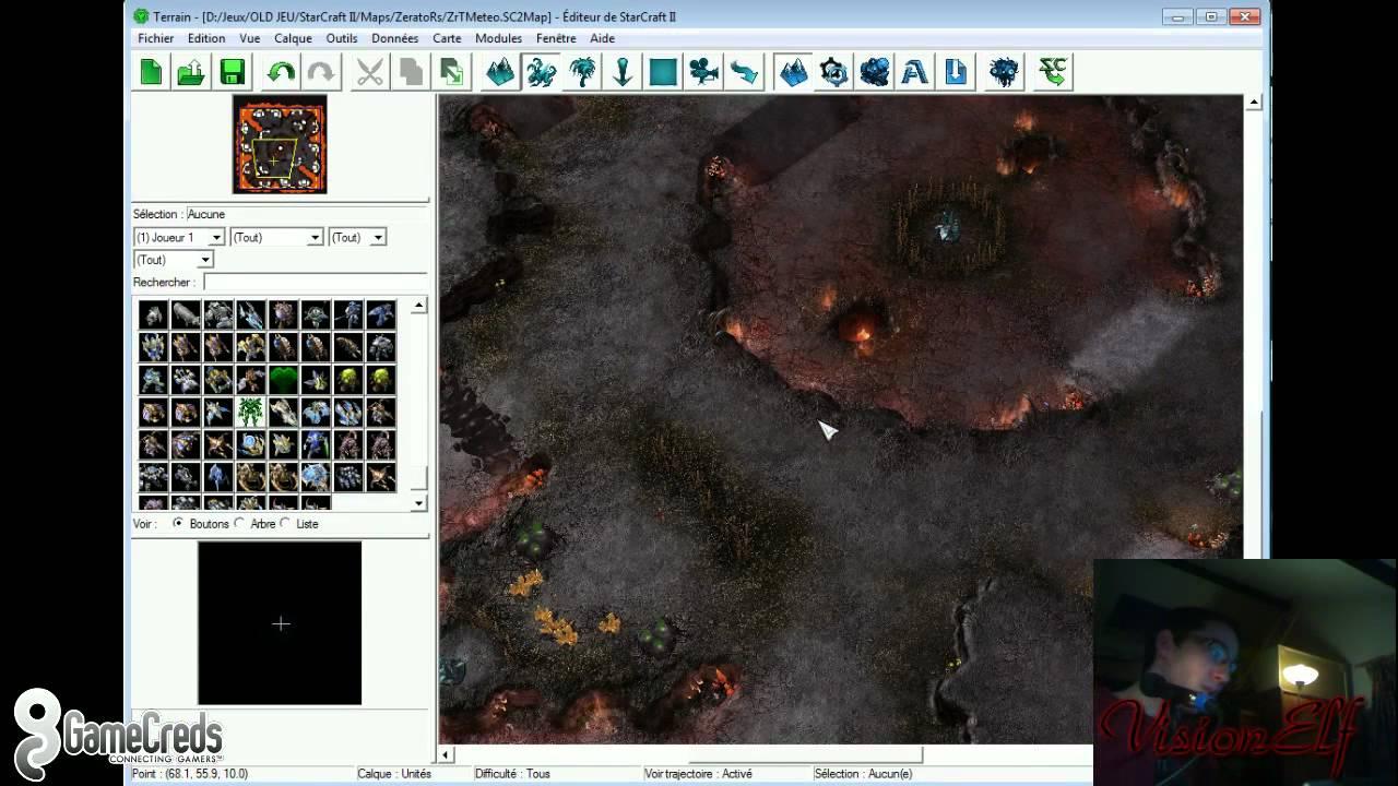 editeur map starcraft 2