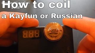 Kayfun/russian Micro Coil Build Tutorial