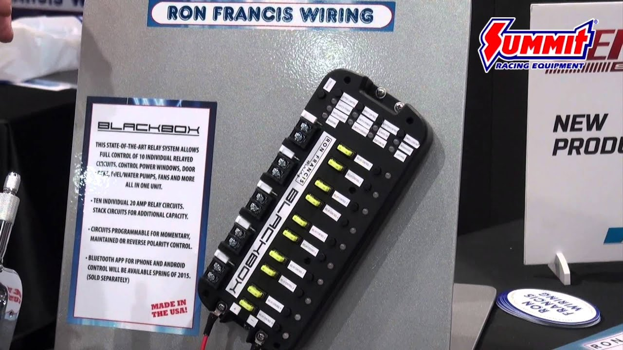 Ron Francis Wiring Solutions Panel Blackbox Relay New From Sema 2018 You