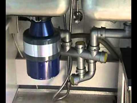 Dissipatore alimentare (tritarifiuti) domestico da lavello - YouTube