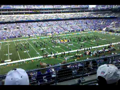 Marching Ravens Pre-Game.3gp