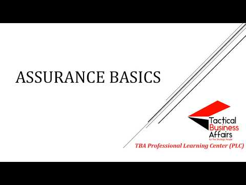 ICAB PSK/CL Assurance Chapter 1