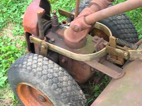 Troy Bilt Tiller Horse Restoration Ol' Rusty part 1A