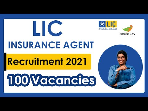 Lic Insurance Agent Jobs 2021 100 Posts Salary Application Form
