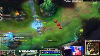 Hi Im Gosu Play Lucian vs Caitlyn League of Legends Full Gameplay
