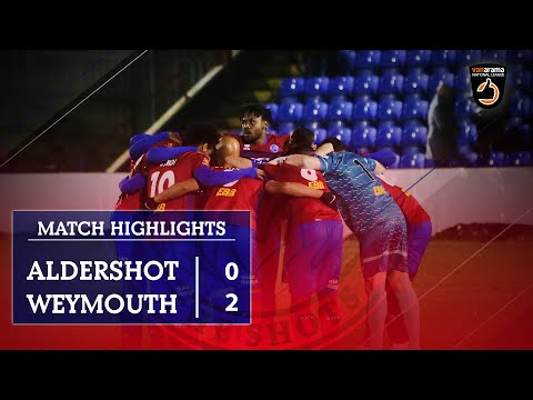 Aldershot Weymouth Goals And Highlights