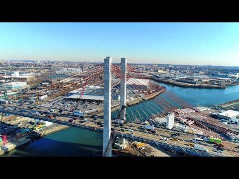 New Kosciuszko Bridge, Phase 2, January 26, 2018