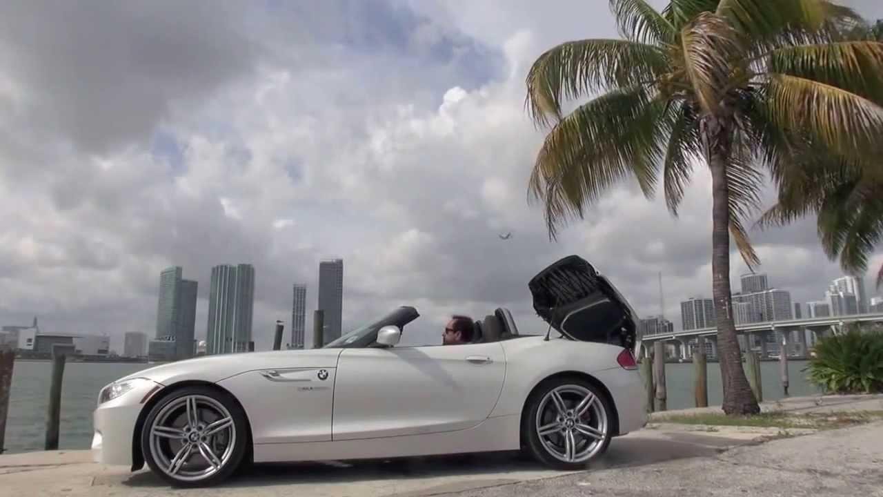 2014 bmw z4 sdrive 35is miami beach test drive