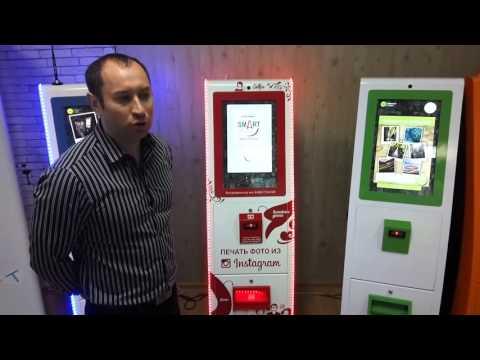 Инстаматы в Москве. Вендинговый бизнес на фотоматах Smart по печати фото из Instagramm