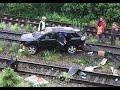 ДТП в Нижегородской области. Пьяный водитель Лексуса упал с моста и погубил две жизни видео