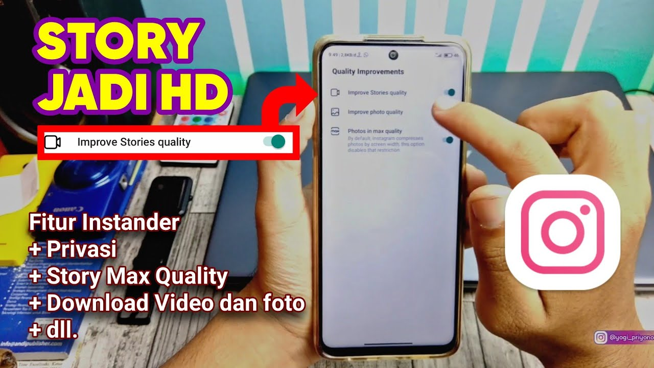 Story Seperti Iphone Aplikasi Instagram Instander Android Fitur Lengkap Terbaru November 2020 Youtube