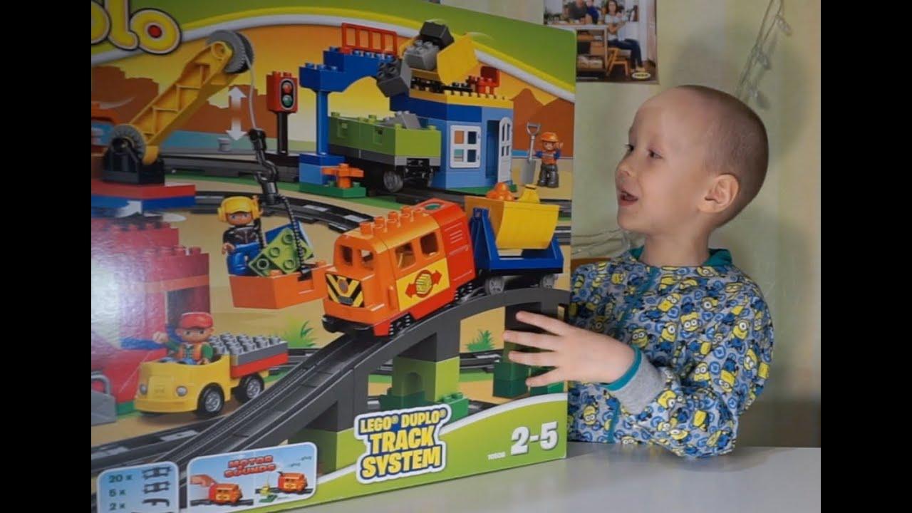 Как построить дом из Лего Дупло. Часть 1. - YouTube