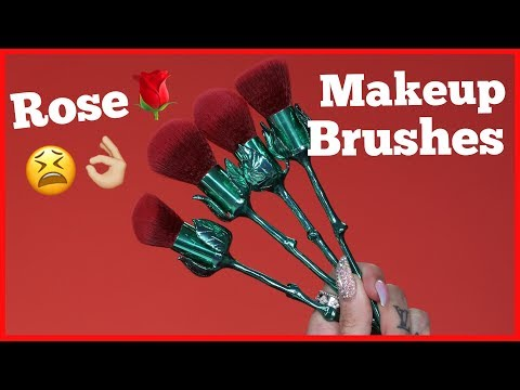 Thumbnail: ROSE MAKEUP BRUSHES… Are They Jeffree Star Approved?