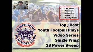 Single Wing Power Sweep Play - Top Youth Football Play