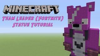 Minecraft Tutorial: Cuddle Team Leader (Fortnite Battle Royale) Statue