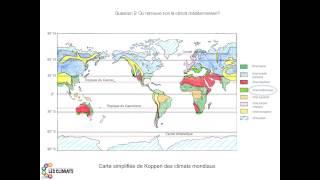 Question2: Où retrouve t-on le climat méditerranéen?