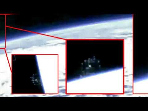 NEW NASA Massive UFO Sighting NASA tv cuts live space feed 2016