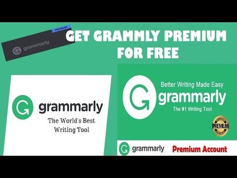 Grammarly Premium Free - get premium grammarly Free account