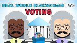 Real World Blockchain Applications - Voting