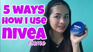 Skin Whitening/5Ways on How i Use Nivea Creme