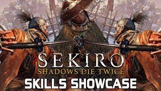 Sekiro Shadows Die Twice - All Skills & Moves Unlocked! (Shinobi Arts) thumbnail