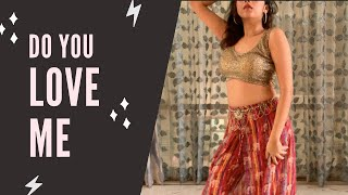 Do you love me   Tried learning Team Naach Choreography in a day  #doyouloveme