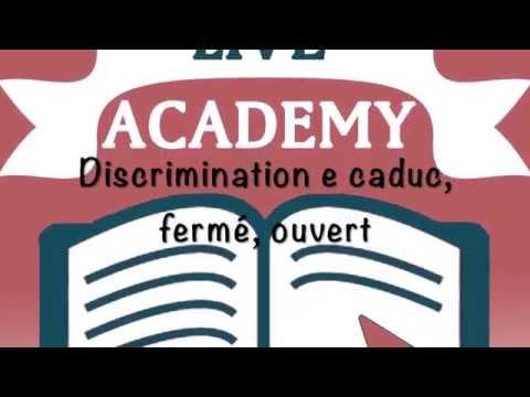 Discrimination E-é-è