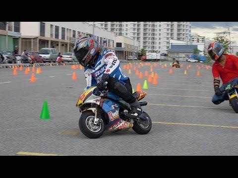 Penang Pocketbike 11/5/08 - Kent (QT) vs Ron (MTA4)