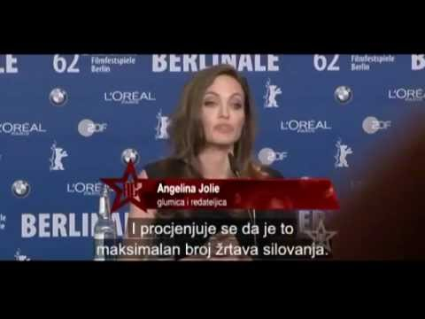 Angelina Jolie Serbian media provoked questions before the premiere in Bosnia