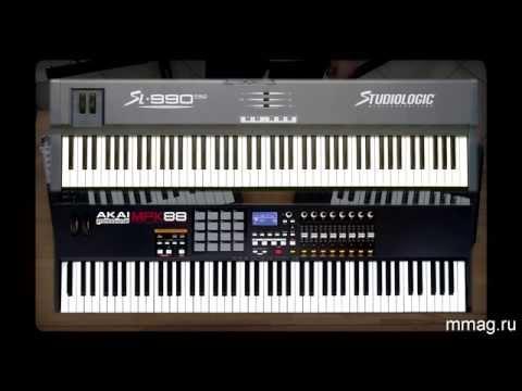 MIDI-клавиатуры (видеоурок)