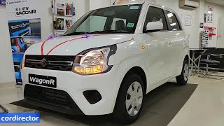 Maruti Suzuki WagonR VXi 2019 | WagonR 2019 VXi 1.2 | Interior and Exterior | Real-life Review