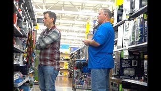 Man farts on me FOR REAL at Walmart!