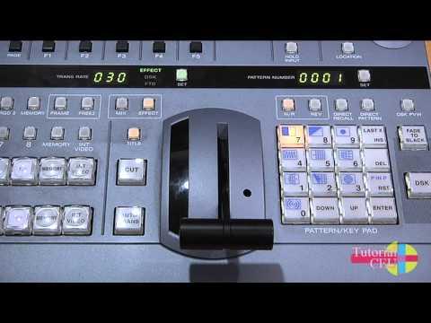 Tutorial Mezclador De Vídeo Sony DFS-700A