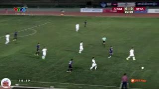 Trực Tiếp U22 Campuchia vs U22 Myanmar   AFF U22 LG Cup.
