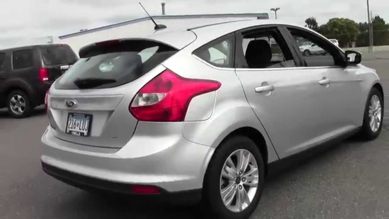 2012 ford focus hatchback sel 6u140082 youtube. Black Bedroom Furniture Sets. Home Design Ideas