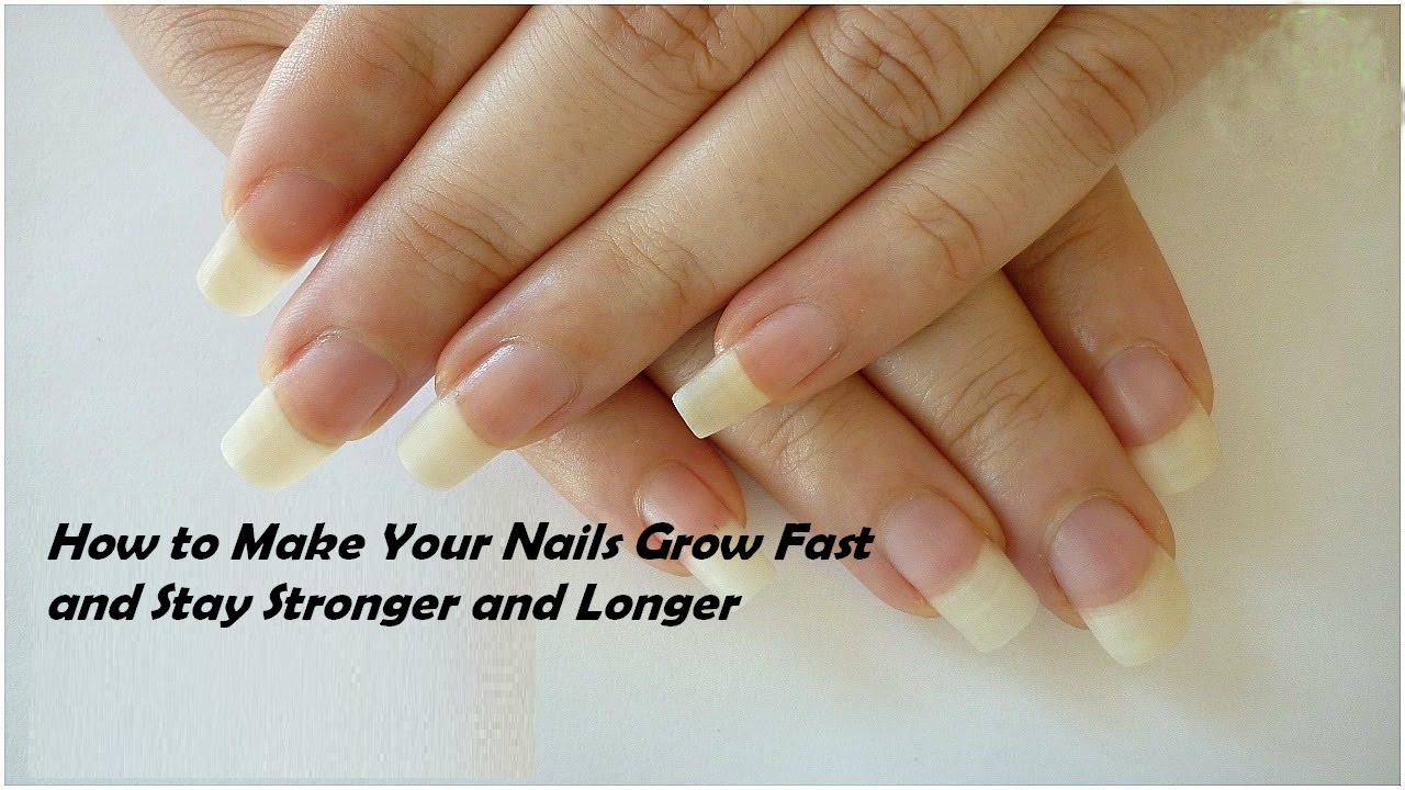 How To Make Your Nails Thicker And Longer - Best Nail 2018
