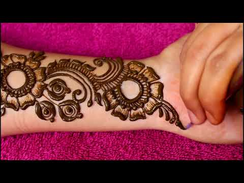 Beautiful latest heavy arabic mehndi designs for hands |2018| thumbnail