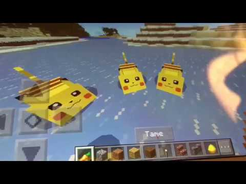 How to spawn Pikachu in Minecraft PE (with a free app!)