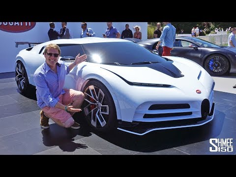 Check Out the New $9m BUGATTI CENTODIECI! | FIRST LOOK