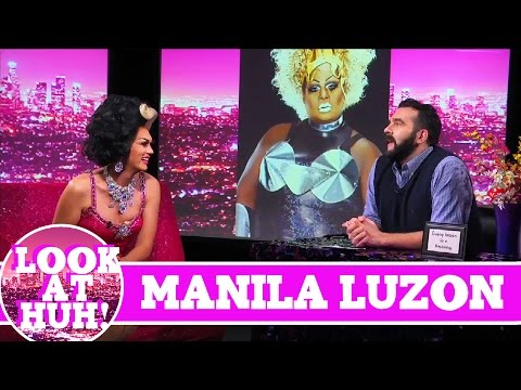 Manila Luzon LOOK AT HUH! on Season 2 of Jonny McGovern's Hey Qween!